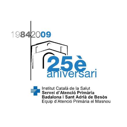 Logo 25è aniversari CAP