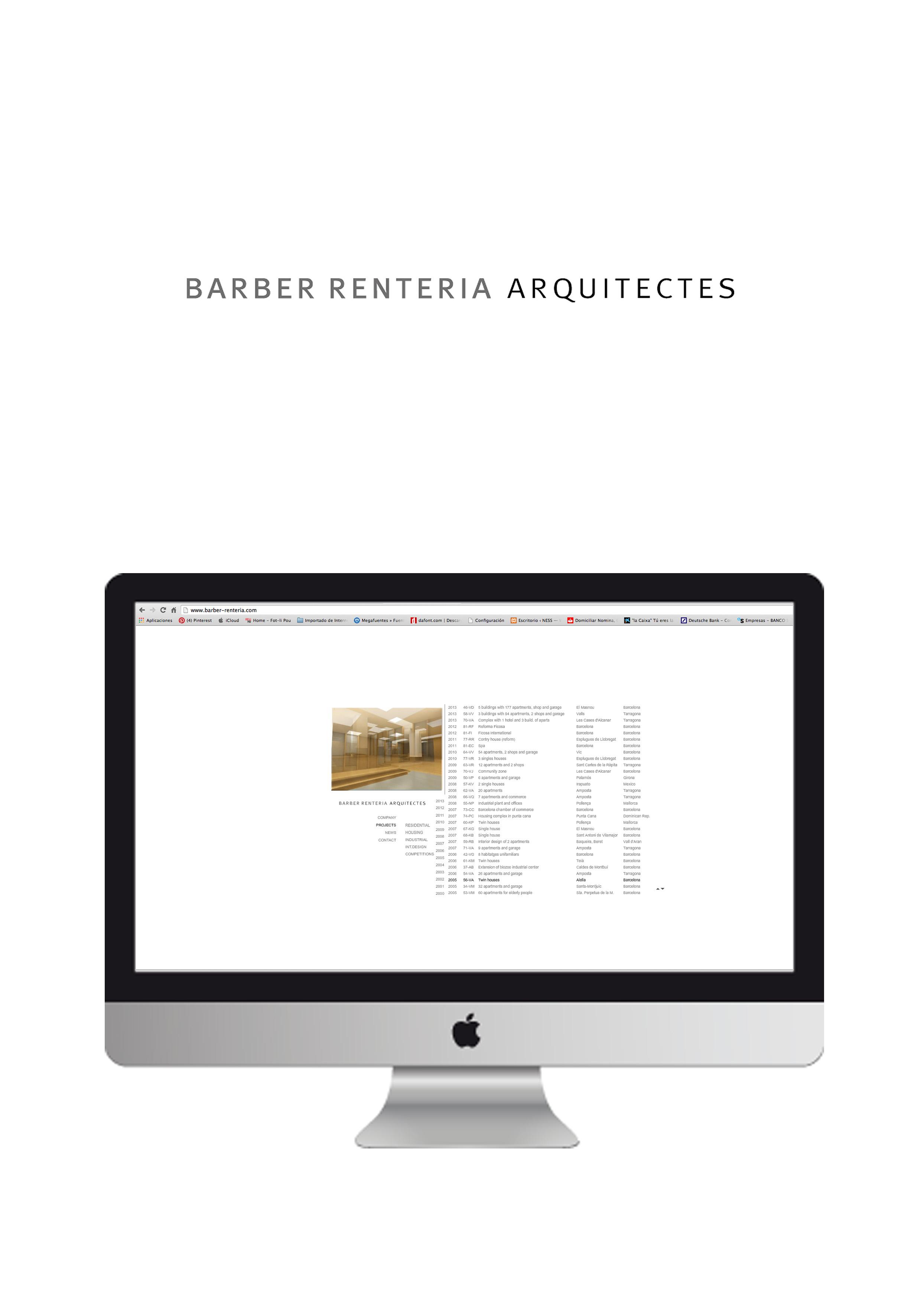 Web Barber Renteria
