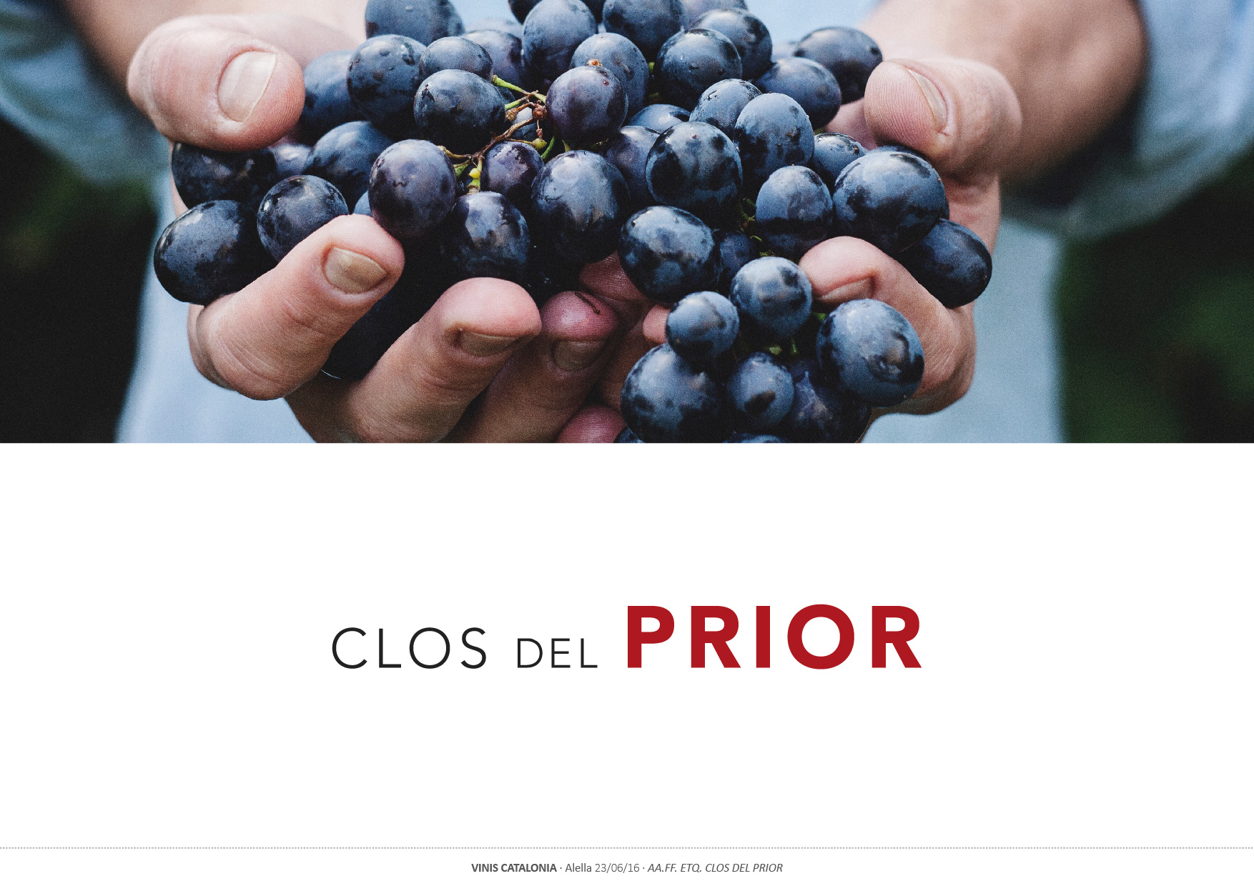 Packaging Clos del Prior