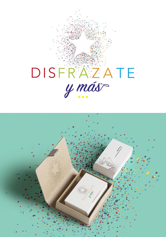 Logo DISFRAZATE Y MAS